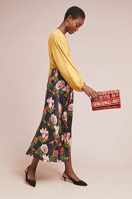 Just Female Verdant Floral Skirt