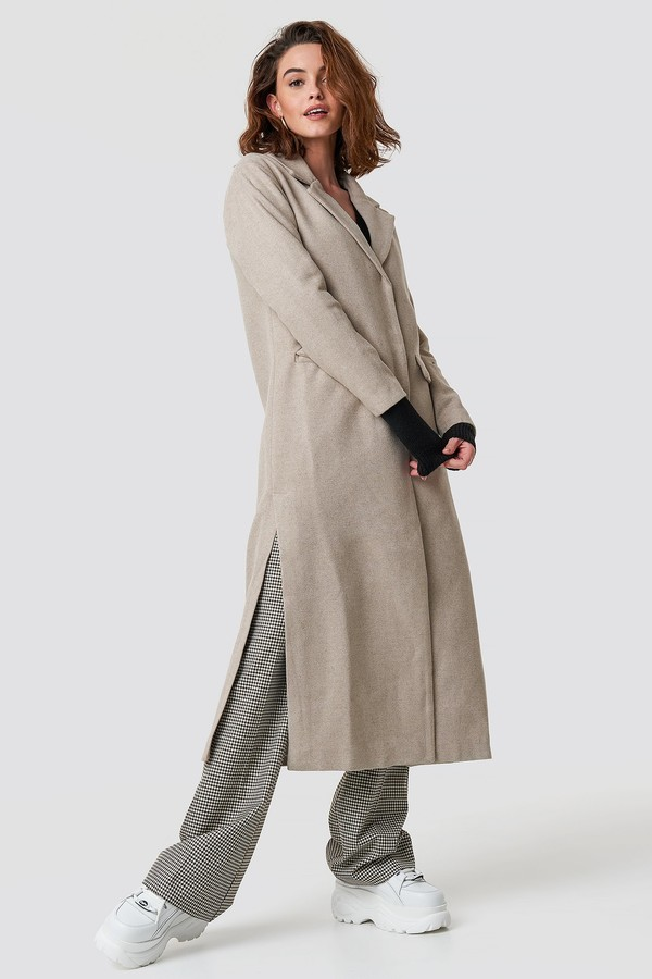 Trendyol Long Coat Black