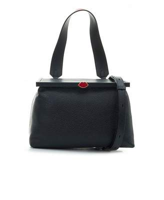 Lulu Guinness Grainy Jessica Leather Bag