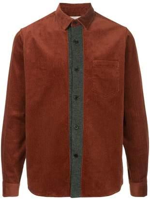 TOMORROWLAND contrast placket shirt