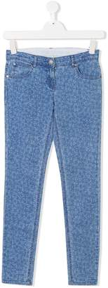 Stella McCartney TEEN star print jeans
