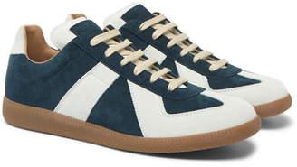 Maison Margiela Replica Suede Sneakers