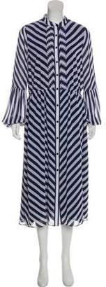 MICHAEL Michael Kors Striped Long Sleeve Dress w/ Tags