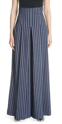 Tracy Reese Stripe Wide Leg Pants