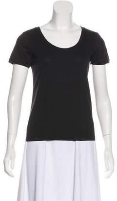 Armani Collezioni Short Sleeve Scoop Neck Top w/ Tags