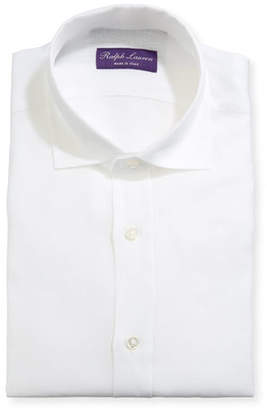 Ralph Lauren Men's Serengeti Stretch Poplin Dress Shirt