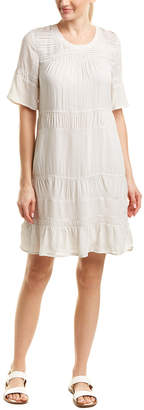 James Perse Pleated Shift Sundress