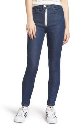 Current/Elliott The Ultra High Waist Skinny Jeans (Rinse)