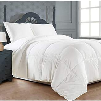 +Hotel by K-bros&Co Clara Clark Hotel Comfort Oversized Down Alternative Comforter King Size, White