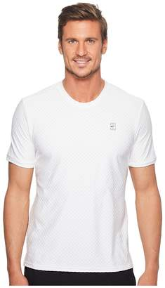 Nike Court Short Sleeve Tennis Top Men's Clothing