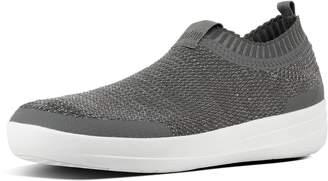 FitFlop Uberknit Metallic Weave Slip-On Sneakers
