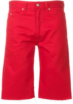 Gucci fringed bermuda shorts