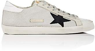 Golden Goose Men's Superstar Leather & Mesh Sneakers - White
