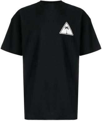 Palm Angels oversized logo print T-shirt