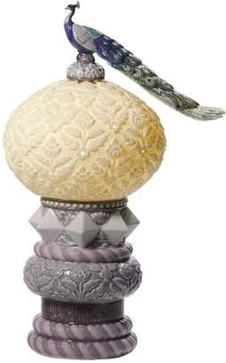 Lladro Royal Peacock Table Lamp