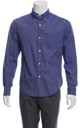 Band Of Outsiders Point Collar Button-Up Shirt