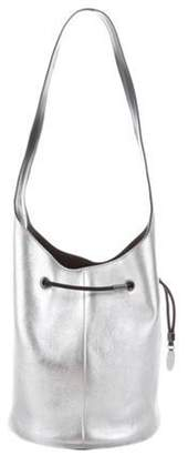 Tom Ford Leather Miranda Bag Silver Leather Miranda Bag