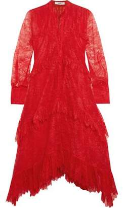Erdem Nigella Ruffled Lace Dress