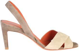 Santoni Contrasting Colours Sandals