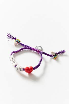 Venessa Arizaga Love Is Love Bracelet