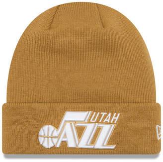 New Era Utah Jazz Fall Time Cuff Knit Hat