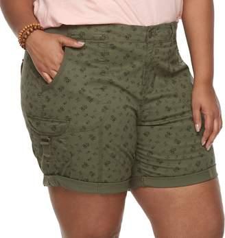 Sonoma Goods For Life Plus Size SONOMA Goods for Life Utility Bermuda Shorts