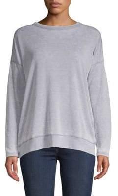 Allen Allen Crisscross Back Sweater
