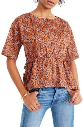 Madewell Drawstring Waist Shirt