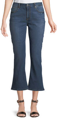 EVIDNT Cropped Flare Jeans