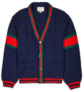 Gucci Navy Cable