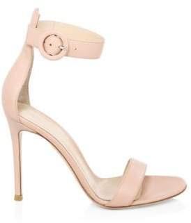 Gianvito Rossi Dahlia Stiletto Leather Sandals