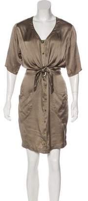 Opening Ceremony Silk Knee-Length Dress