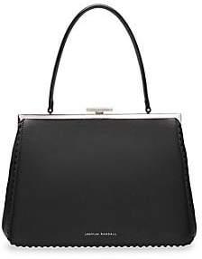 Loeffler Randall Women's Olivia Leather Top Handle Frame Bag