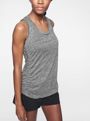 Athleta Linen Ruched Tank
