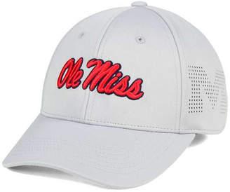 Top of the World Ole Miss Rebels Light Gray Rails Flex Cap