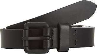 Barneys New York Men's Leather Belt - Black