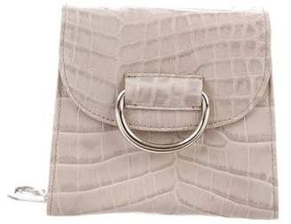 Little Liffner Embossed Tiny D Box Bag