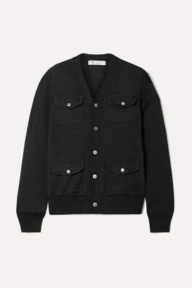 Comme des Garcons Wool Cardigan - Black