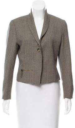 Barbara Bui Wool Tweed Blazer