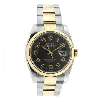 5dd03b92c7d Rolex Day Date 36mm Black gold and steel Watches
