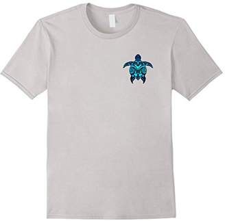 Tribal Hawaiian Maori Sun Sea Turtle Island T-shirt