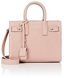 Saint Laurent Women's Nano Leather Sac De Jour - Rose