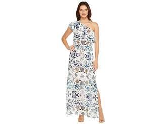 Lucky Brand Skylar Floral Maxi Dress Women's Dress