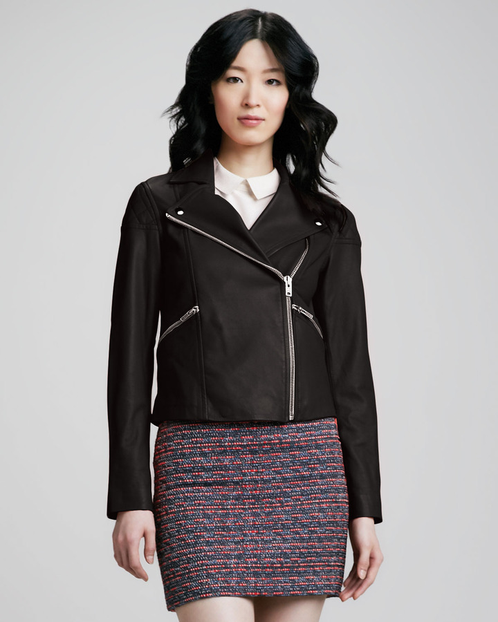 Marc by Marc Jacobs Jett Leather Motorcycle Jacket