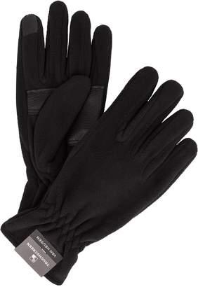 Van Heusen Men's Touchscreen Tech Fleece Gloves