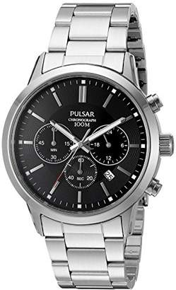Pulsar Men's Quartz Stainless Steel Dress Watch (Model: PT3791X)