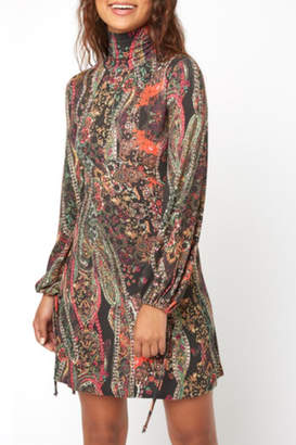 Free People Pattern Backless Dress