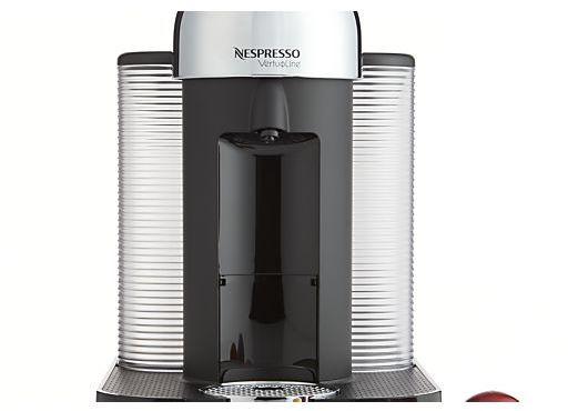 Crate & Barrel Nespresso ® VertuoLine Chrome Coffee-Espresso Maker