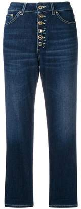 Dondup straight-cut cropped jeans
