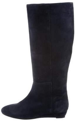 Loeffler Randall Suede Knee Boots